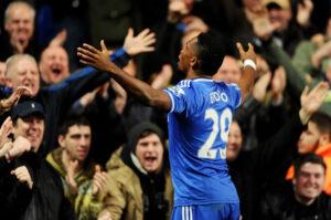 Samuel Eto'o, attaccante del Chelsea