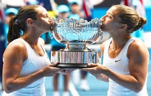Sara Errani e Roberta Vinci conquistano Australian Open