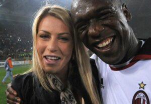 Seedorf e Barbara Berlusconi - SportCafe24
