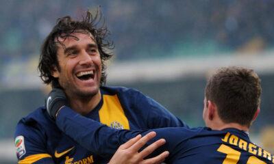 Luca Toni, ancora decisivo in Livorno-Verona