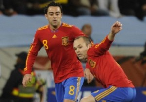 Mondiali: Xavi e Iniesta, tandem gioiello della Spagna campione in carica