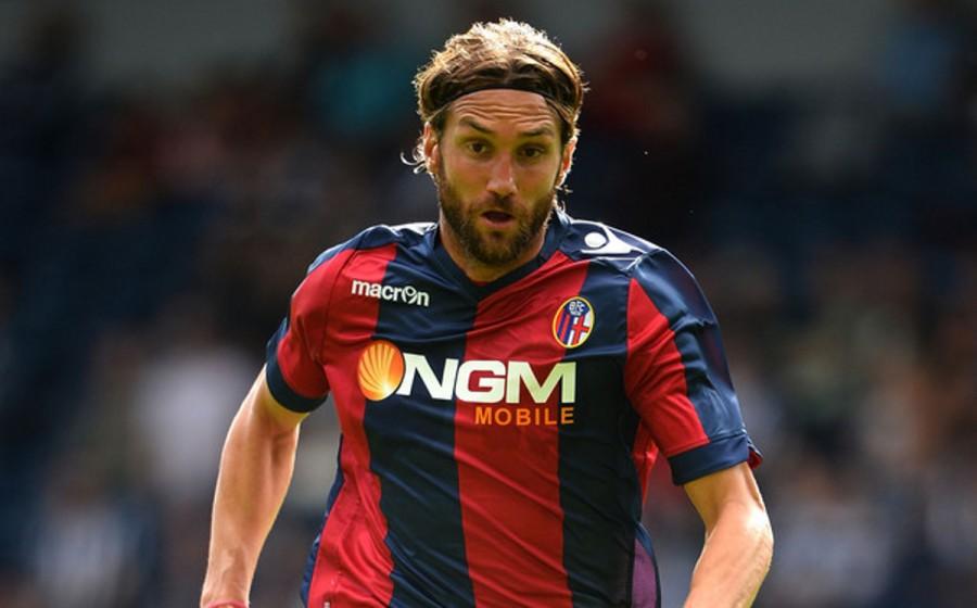 Rolando Bianchi, solo 3 gol nel Bologna