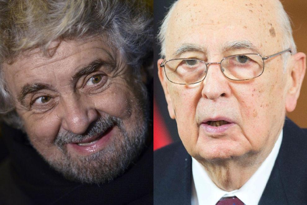 Berlusconi attacca Grillo e Napolitano