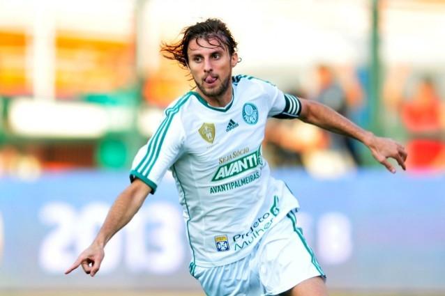 Henrique con la maglia del Palmeiras
