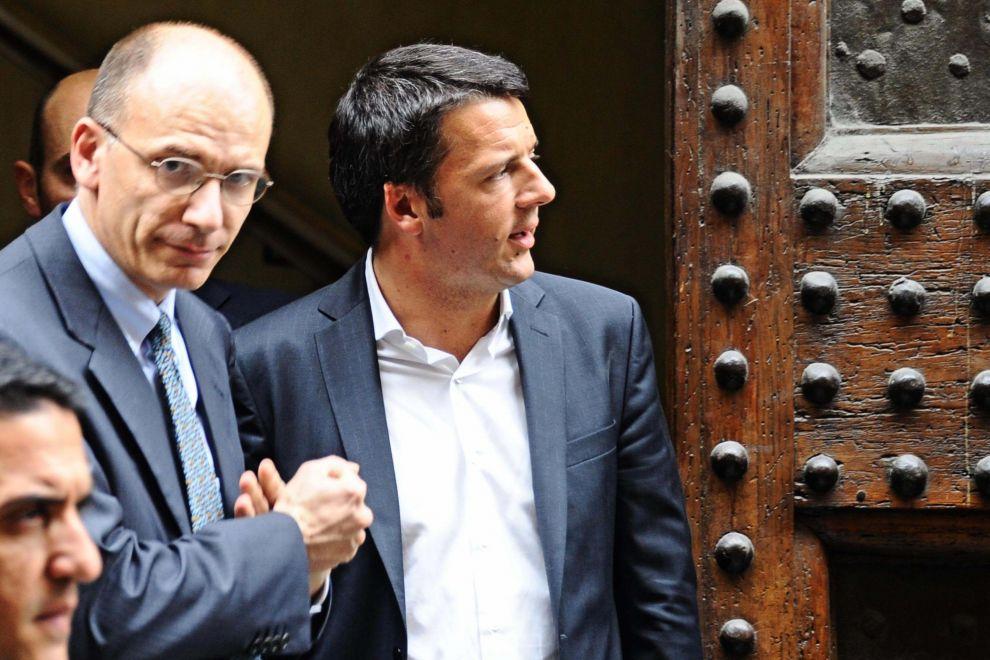 Piena sintonia tra il premier Letta e Matteo Renzi