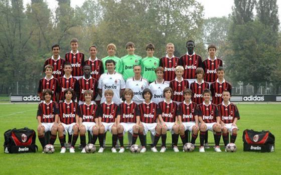 Le giovanili del Milan: c'è anche Marco Barbieri