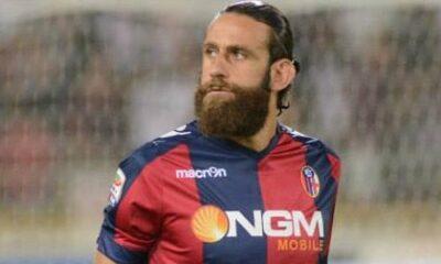 Davide Moscardelli, attaccante del Bologna