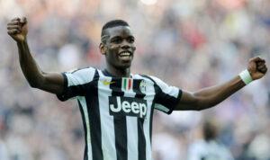 Pogba,centrocampista dela Juventus