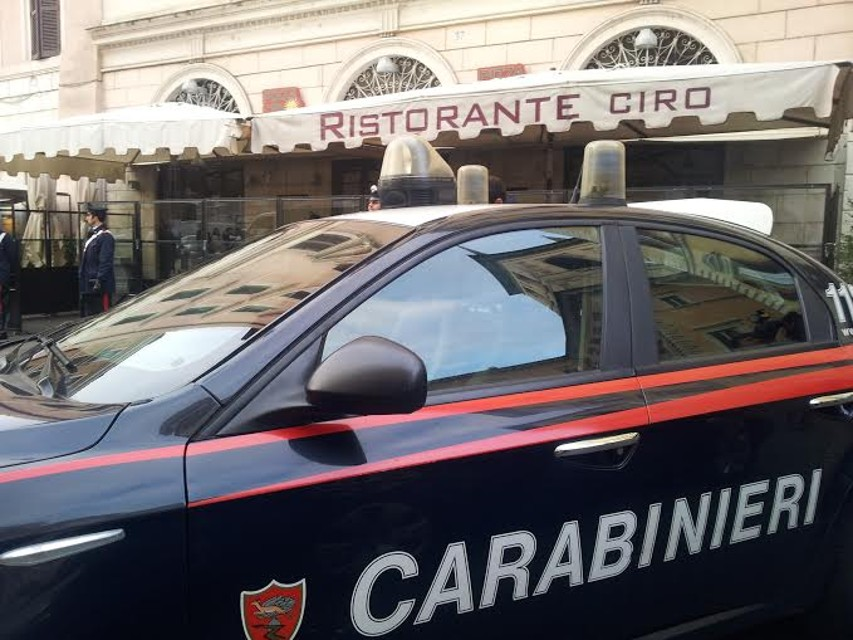 Indagati 23 tra ristoranti e pizzerie romane appartenenti alla Camorra.