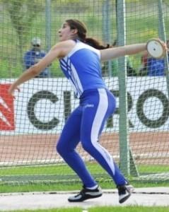 Tamara Apostolico (qui in azione) simbolo dei valori delle Olimpiadi negati dall'Italia