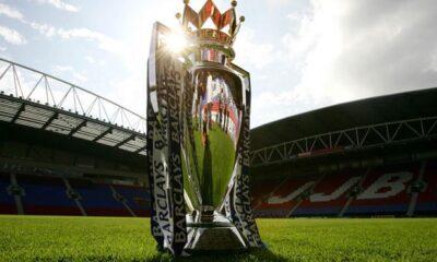 Il Trofeo della Premier League.