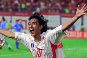Ahn, giustiziere dell'Italia a Corea/Giappone 2002.
