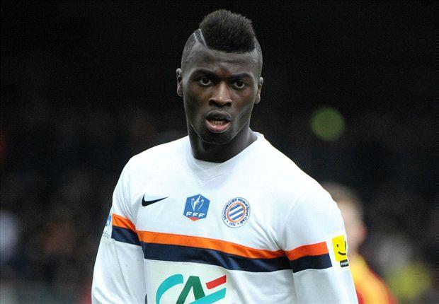 Niang con la maglia del Montpellier
