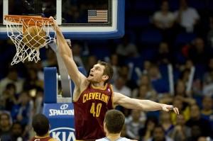 Tyler Zeller, Cleveland Cavaliers