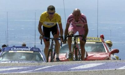 Il duello tra Pantani ed Armstrong sul Mont Ventoux