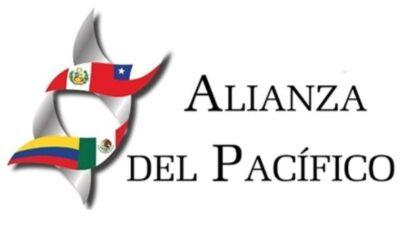 Il simbolo dell'Alleanza del Pacifico.