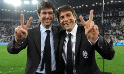Juventus-Atalanta: Agnelli e Conte pronti a festeggiare il terzo scudetto insieme