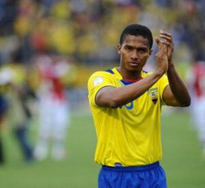 Antonio Valencia, capitano dell'Ecuador.
