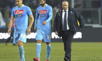 Il Napoli di Benitez bloccato in casa sull'1-1 dal Genoa