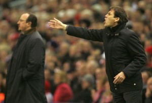 Benitez e Garcia,si sfideranno domenica per la quarta volta in stagione