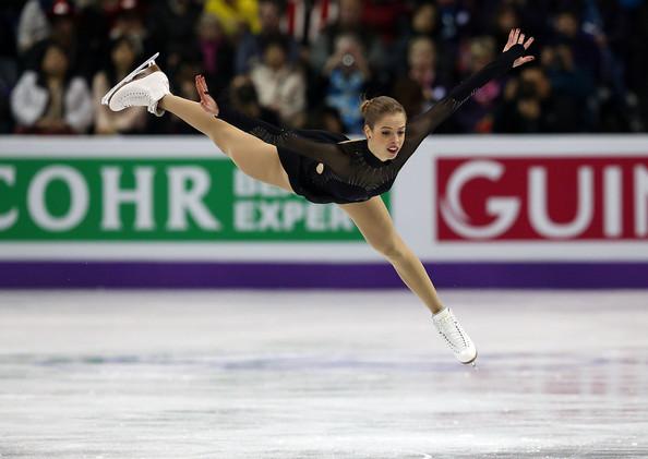 Carolina Kostner, impegnata in questi giorni nelle Olimpiadi di Sochi