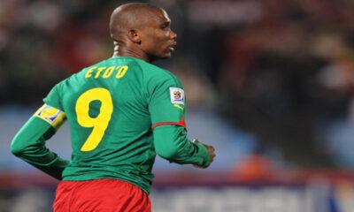 Samuel Eto'o, capitano del Camerun