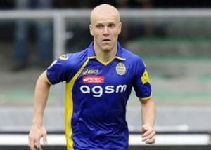 Empoli-Verona: Emil Halfreddson, espulso nel secondo tempo