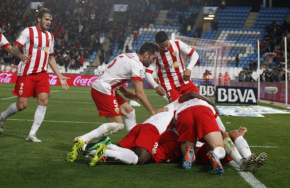 Almeria-Atletico Madrid 2-0