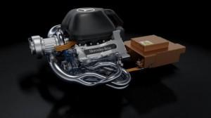 Il motore Mercedes V6