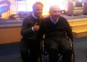Massa e Sir Frank Williams