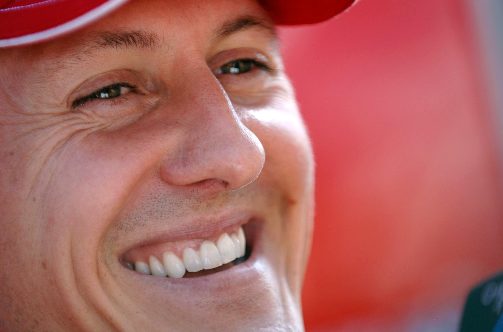 Micheal Schumacher, campione di F1 in coma