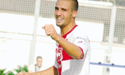 Leonardo Pavoletti, attaccante del Sassuolo ad un passo dal Genoa