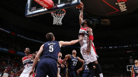 Pelicans Wizards Nba