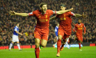Premier League: esultanza Steven Gerrard