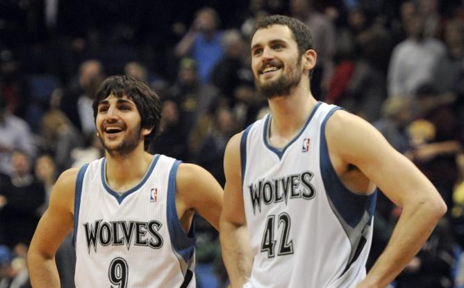 Rubio e Love stendono Miami nella notte NBA.