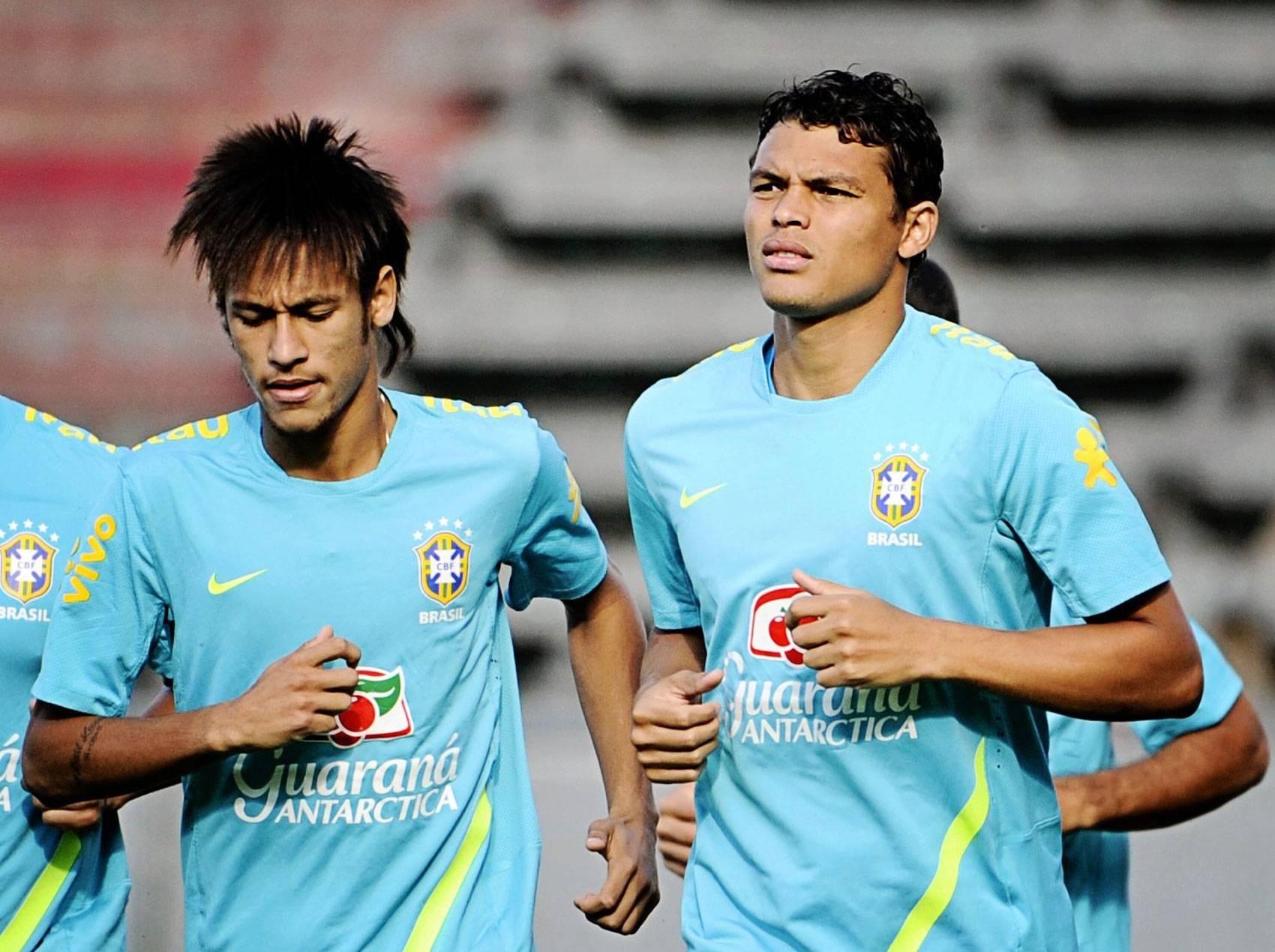 Le stelle del Brasile: Neymar e Thiago Silva