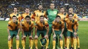 """Una formazione dei """"Socceroos"""""""