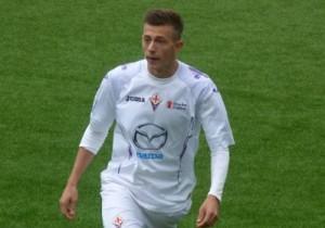 Bernardeschi con la maglia della Fiorentina Primavera