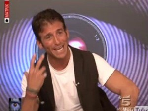 Il provino di Gianluca Zito (fonte immagine Canale 5)
