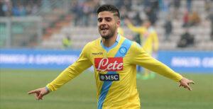 Lorenzo Insigne, attaccante del Napoli e della Nazionale