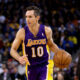 Steve Nash con la maglia dei Lakers