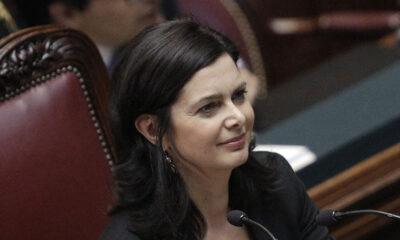 Laura Boldrini, Presidente della Camera dei Deputati.