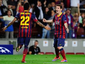 Barcellona-Manchester City: Messi, autore del primo gol