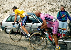 Il duello tra Marco Pantani e Lance Armstrong