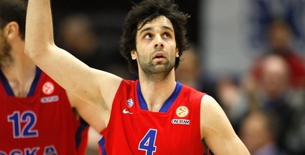 Milos Teodosic, croce e delizia del CSKA Mosca.