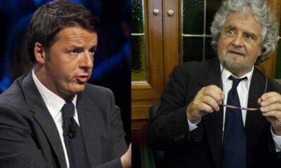 Apertura di Grillo verso Renzi sul Democratellum