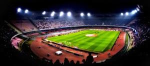 Lo stadio San Paolo.