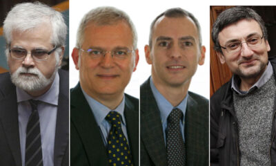 i 4 senatori dissidenti espulsi dal M5S