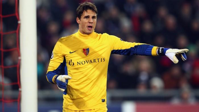 Yann Sommer con la maglia del Basilea