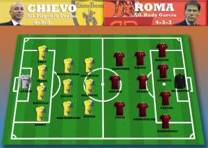 formazioni chievo-roma sportcafe24.com